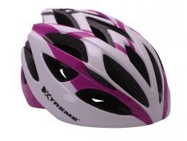 X-Air hjelm Lilla/Hvid