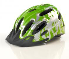 X-City hjelm Grøn/Sølv One-Size