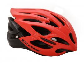 X-Pro-3 hjelm Rød/Sort