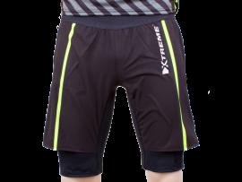 RUN Trial shorts med indertights